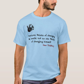 Tolstoy thought process T-Shirt