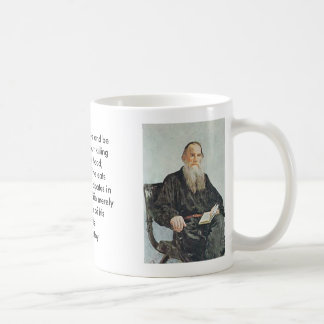 Tolstoy, Tolstoy, A man can live and be healthy... Coffee Mug