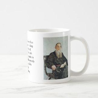 Tolstoy, Tolstoy, hombre de A puede vivir y ser Taza Clásica