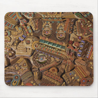 TOLTEC CARVING MOUSE PAD