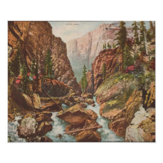 Toltec Gorge Poster
