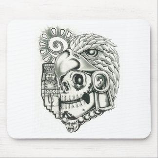 Toltec Sun Warrior Mouse Pad