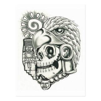 Toltec Sun Warrior Postcard
