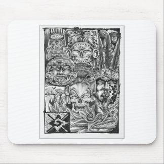 Toltec Warriors Mouse Pad
