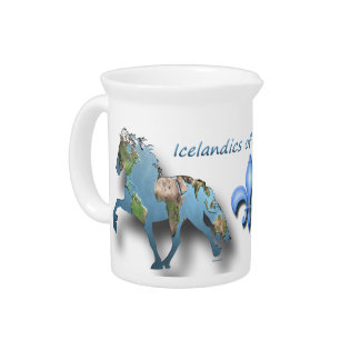 Tolting the World Beverage Pitcher