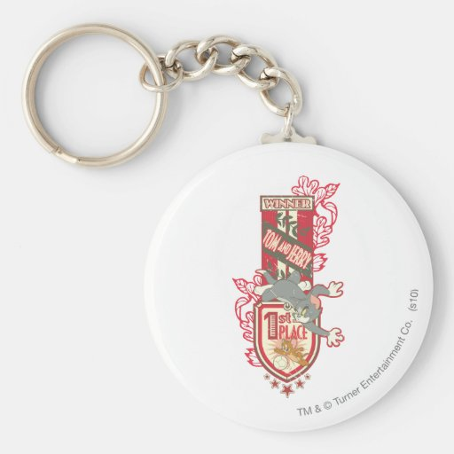 Tom and Jerry 1st Place 1 Keychain