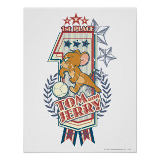 Tom and Jerry 1st Place 2 Poster