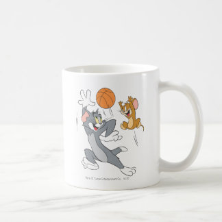 Tom and Jerry Basketball 1 Coffee Mug
