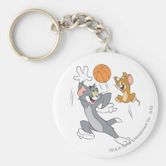Tom and Jerry Basketball 1 Keychain