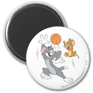 Tom and Jerry Basketball 1 Magnet