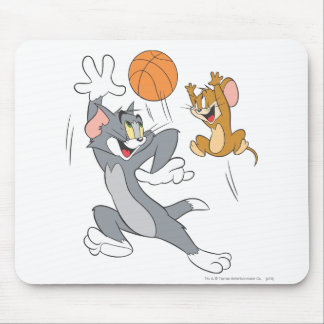 Tom and Jerry Basketball 1 Mouse Pad