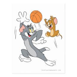 Tom and Jerry Basketball 1 Postcard