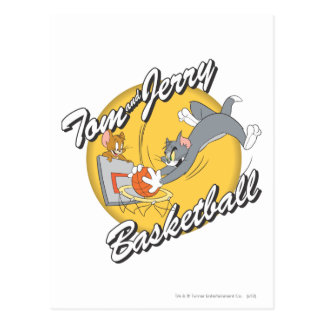 Tom and Jerry Basketball 2 Postcard