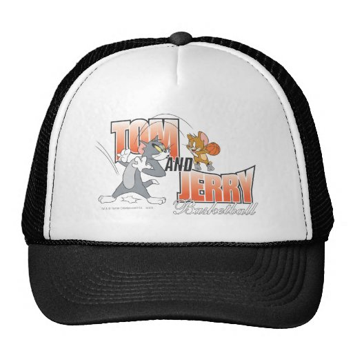 Tom and Jerry Basketball 3 Hats