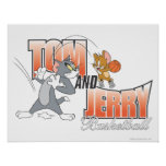 Tom and Jerry Basketball 3 Print