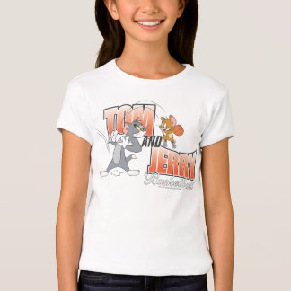 Tom and Jerry Basketball 3 T-Shirt