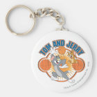 Tom and Jerry Basketball 4 Keychain