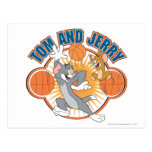 Tom and Jerry Basketball 4 Postcard