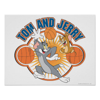 Tom and Jerry Basketball 4 Poster