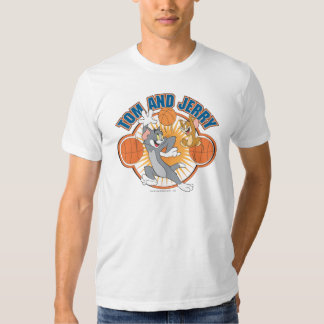 Tom and Jerry Basketball 4 T Shirt