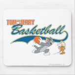 Tom and Jerry Basketball 5 Mouse Pad