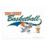 Tom and Jerry Basketball 5 Postcard