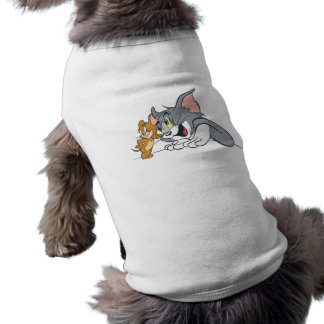 Tom and Jerry Best Buds Doggie T Shirt