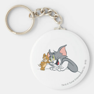Tom and Jerry Best Buds Keychain