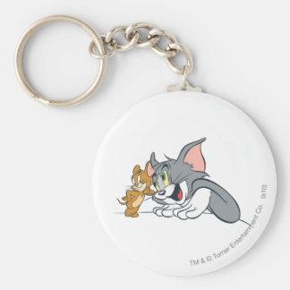 Tom and Jerry Best Buds Keychain