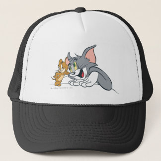 Tom and Jerry Best Buds Trucker Hat