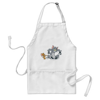 Tom and Jerry Black Paw Cat Adult Apron