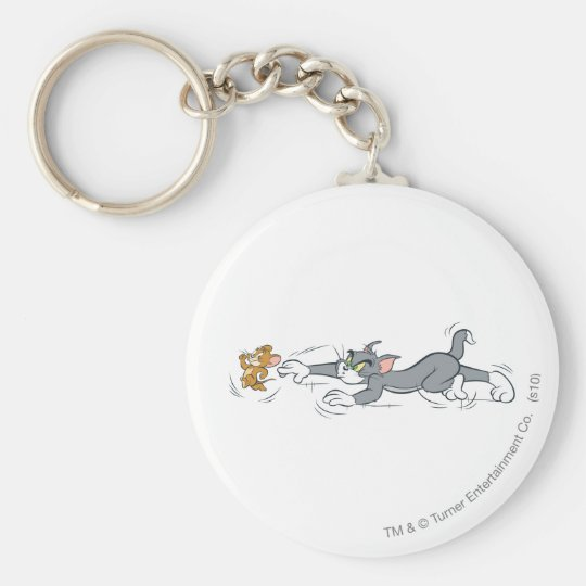 Tom and Jerry Chase Keychain