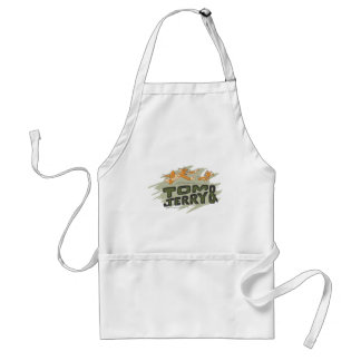 Tom and Jerry Chase Logo Adult Apron
