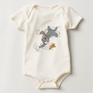 Tom and Jerry Chase Turn Baby Bodysuit