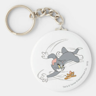 Tom and Jerry Chase Turn Keychain