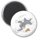 Tom and Jerry Chase Turn Magnets