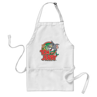 Tom and Jerry Classic Logo Adult Apron