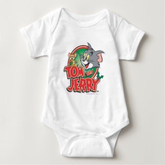 Tom and Jerry Classic Logo Baby Bodysuit