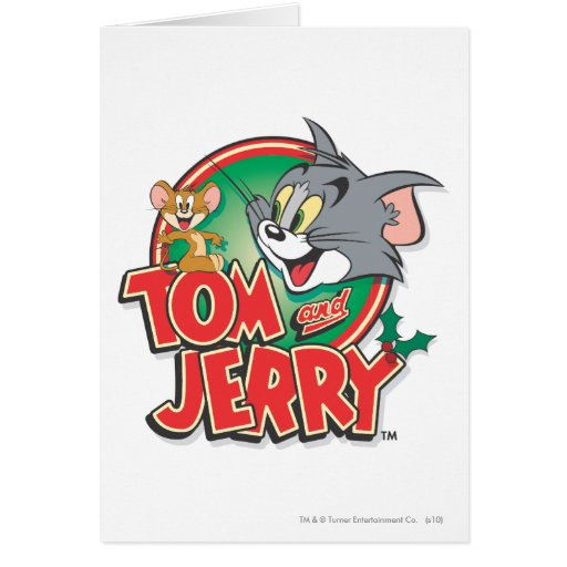 Tom and Jerry Classic Logo Card