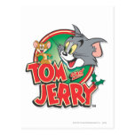 Tom and Jerry Classic Logo Postcard