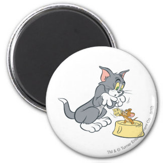 Tom and Jerry Feed The Cat Magnets