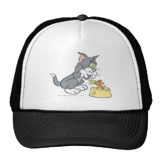 Tom and Jerry Feed The Cat Trucker Hat