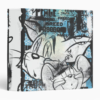 Tom and Jerry Grimey Binder
