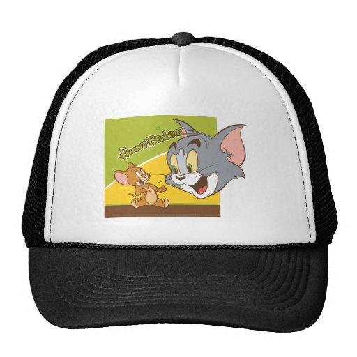 Tom and Jerry Hanna Barbera Logo Trucker Hat
