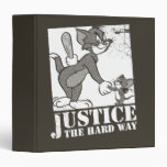 Tom And Jerry Justice the Hard Way Binder