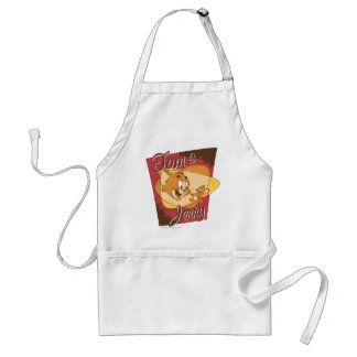 Tom and Jerry Logo 2 Adult Apron