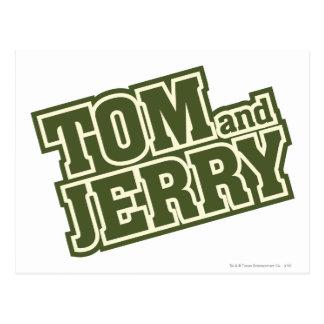 Tom and Jerry Logo 3 Postcard
