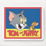 Tom And Jerry Logo Flat Mousepads