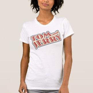 Tom and Jerry Logo Tee Shirt