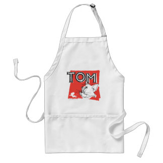 Tom and Jerry Mad Cat Adult Apron